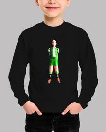 Futbolin dos piernas verde y blanco