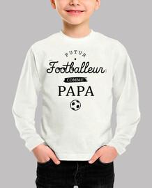 futbolista como papá