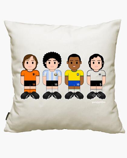 Funda cojín Futbolistas clásicos