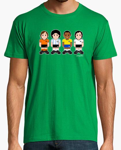 Camiseta Futbolistas clásicos