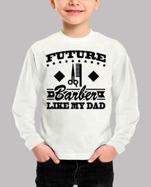 futuro barbero como mi papá
