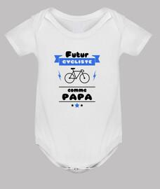 futuro ciclista como papá