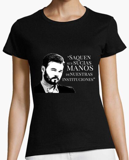 Camiseta Gabriel Rufian saquen sus sucias manos