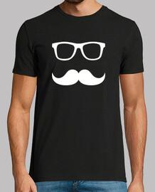 gafas de bigote