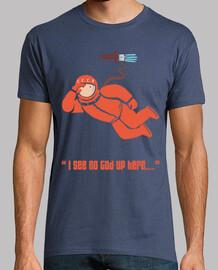 Gagarin from space (Man T-shirt)