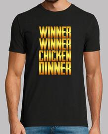 gagnant dîner de poulet gagnant