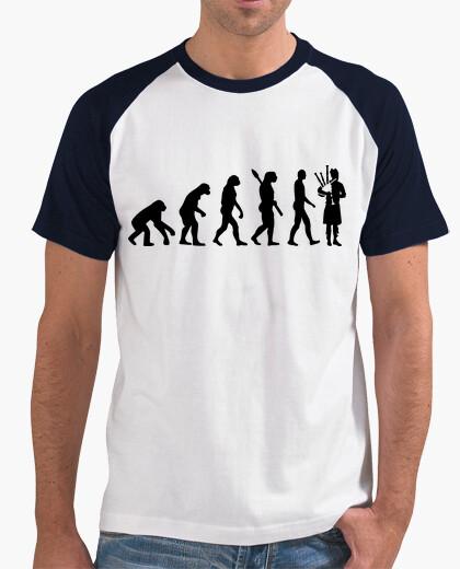 Camiseta gaita evolución