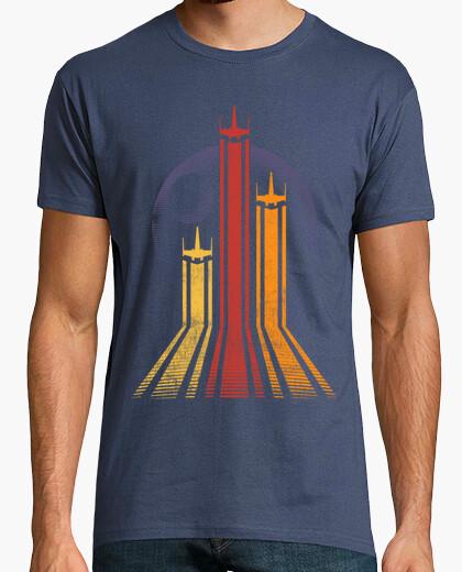 Tee-shirt galactique rétro