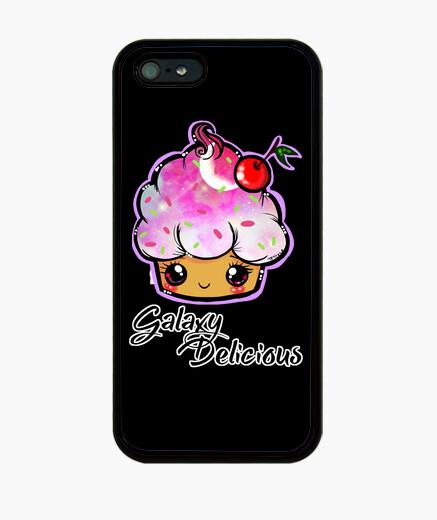Funda iPhone galaxy delicioso color rosa-iphone5