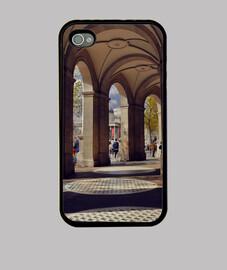 Galería Funda iPhone 4, negra