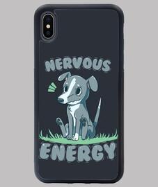 galgo de energia nerviosa - funda iphone xs max