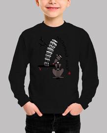 Galgos por el mundo_Italia Camiseta Niño Manga Corta