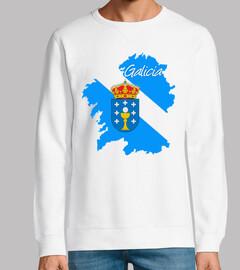 Galicia (mapa y escudo)