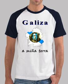 Galiza. A miña terra. Samarreta.