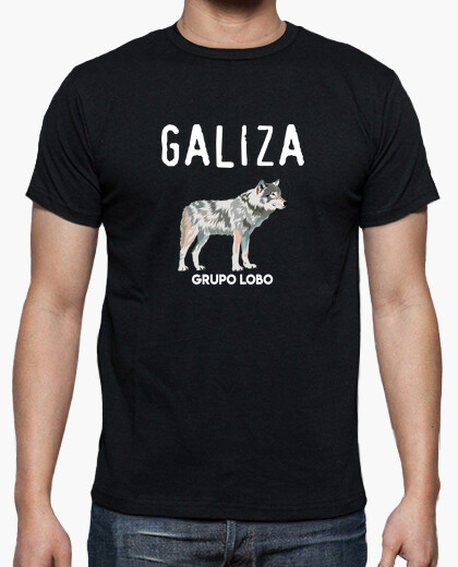 Galiza wolf group, men's t-shirt .