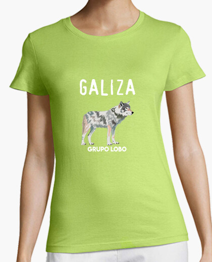 Galiza wolf group, woman t-shirt