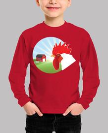Gallo de granja