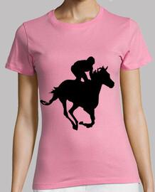 Galopar caballo hipica
