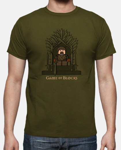 Camisetas Game of Blocks