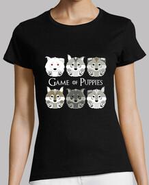 Game of Puppies - Camiseta manga corta