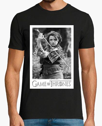 Camiseta Game of Thrones - Arya Stark & Aguja