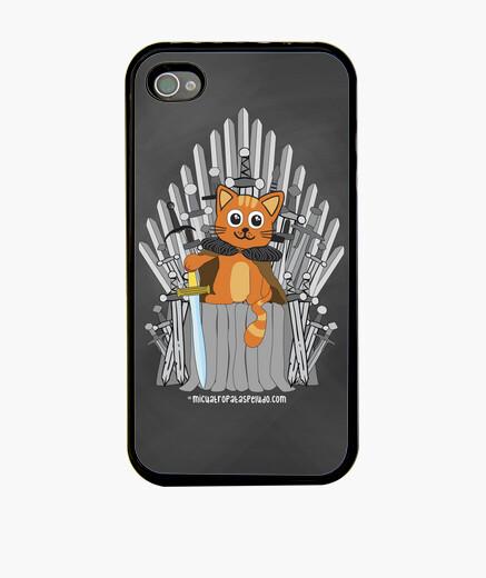 Coque iPhone game of thrones cat - housse pour iphone 4 / 4s