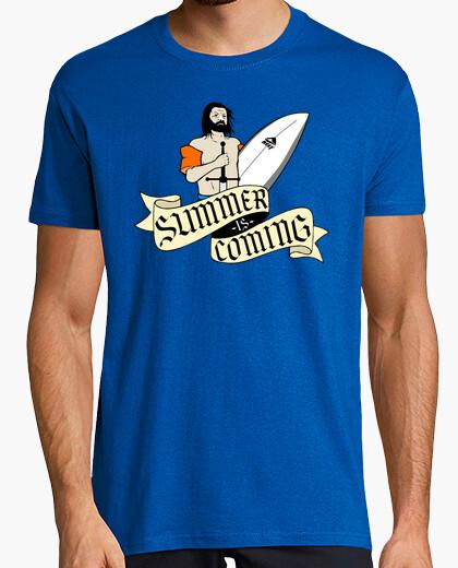 Camiseta Game of Thrones. Eddard Stark - Summer is coming
