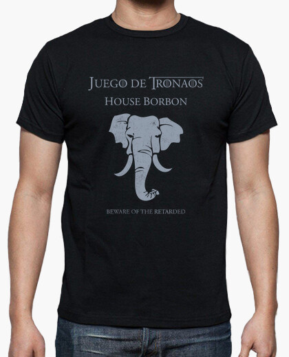 Game of thrones: house bourbon t-shirt