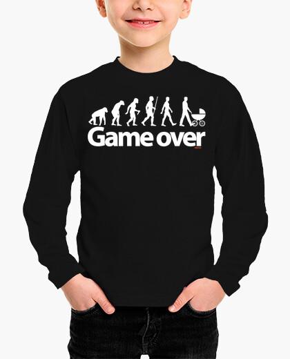 Ropa infantil Game over