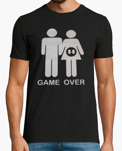 Camiseta Game Over