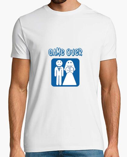 Camiseta Game Over - No te cases