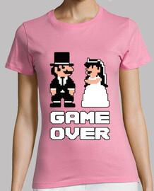 game over mario