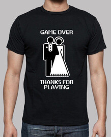Game Over Thanks For Playing