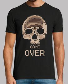 Game Over Video Juego freak geek gamer camisetas friki