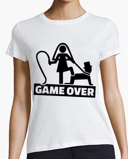 9476ab20 Game over wedding T-shirt - 1064165 | Tostadora.co.uk