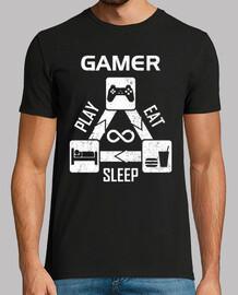 Gamer - Jugar Comer Dormir