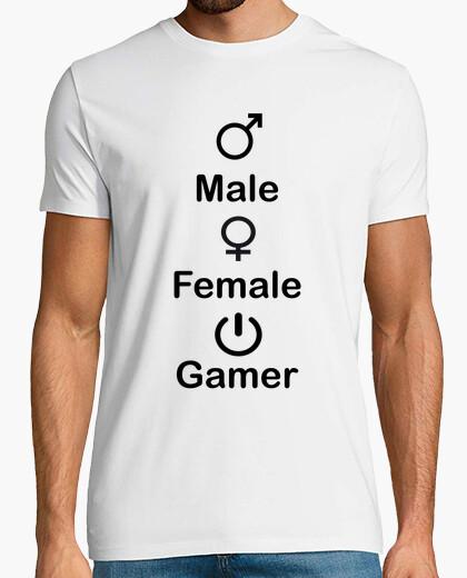 Camiseta Gamer 3 sexos (Personalizable)