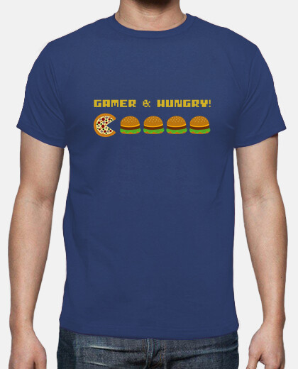 Gamer and Hungry