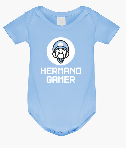 Gamer brother luigi baby kids clothes