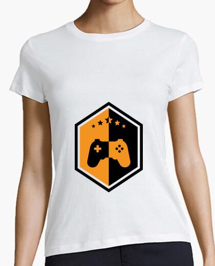 Gamer camiseta mujer - juego - friki