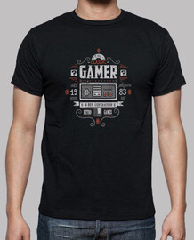 gamer classico - t-shirt donna