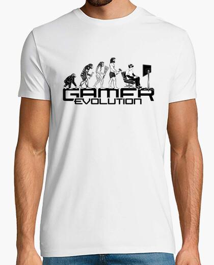 Tee-shirt Gamer evolution cadeau