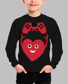 Gamer Heart With Gamepad