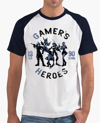 Camiseta Gamer Heroes