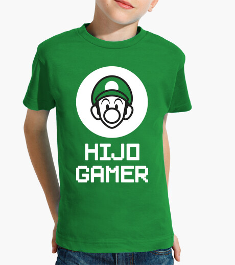 Gamer son Luigi Peque kids clothes