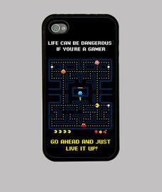 games - headache - pacman - smartphone