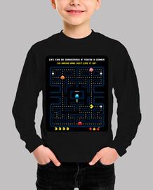 games - headache - pacman (black background)