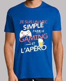Gaming - un mec simple