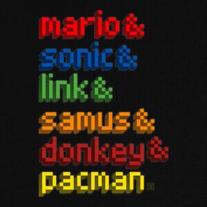 T-shirt gaming heroes