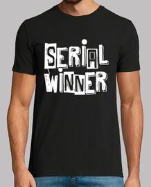 ganador en serie de fondo negro